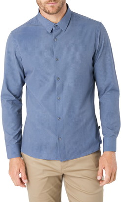7 Diamonds In My Feeling Slim Fit Button-Up Shirt