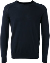 Closed round neck jumper - men - Virgin Wool - S