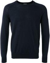 Closed round neck jumper - men - Virgin Wool - S