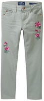 Lucky Brand Isla Floral Embroidered Jean (Little Girls)