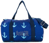 Duskii Girl - anchor print duffle bag - kids - Cotton - One Size