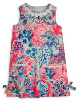 Lilly Pulitzer Toddler's, Little Girl's & Girl's Vintage Dobby Underwater Shift Dress
