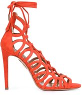 Aquazzura 'Ooh Lala' sandals - women - Leather/Suede - 36