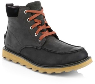 Sorel Men's Madson Moc Toe Waterproof Ankle Boots