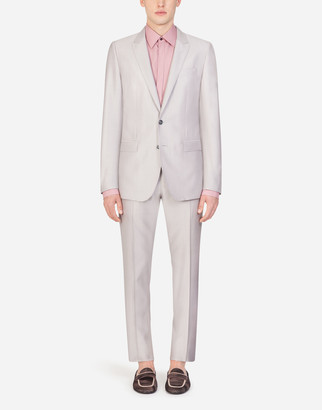 Dolce & Gabbana Wool And Silk Martini Suit