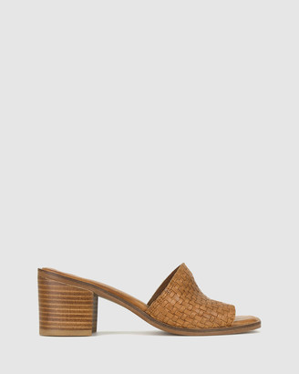 betts Women's Heeled Sandals - Laurie Leather Mule - Size One Size, 6 at The Iconic