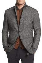Ermenegildo Zegna Check Wool-Blend Two-Button Blazer