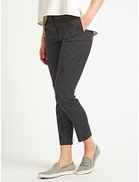 Marella Guido Jacquard Spot Trousers, Black/White