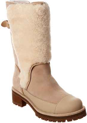 Tory Burch Sloan Shearling Boot