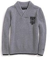Tommy Hilfiger Little Boy's Th Shawl Collar Sweater