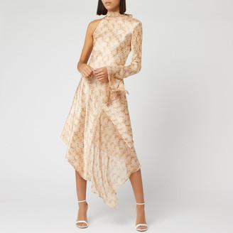 Bec & Bridge Women's Anaconda Long Sleeve Midi Dress
