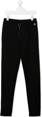 Calvin Klein Kids TEEN drawstring track trousers