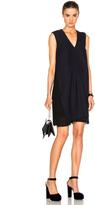 Carven Sleeveless V-Neck Dress