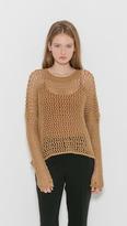 LAUREN MANOOGIAN Net Pullover