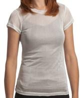 True Grit Mesh Knit T-Shirt - Short Sleeve (For Women)