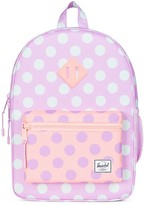 Herschel Girls' Polka-Dotted Heritage Youth Backpack