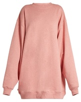 Acne Studios Yanin oversized cotton-jersey sweatshirt
