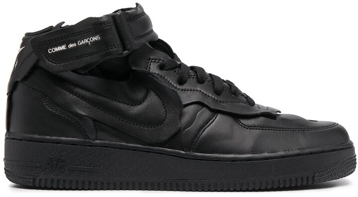 Thumbnail for your product : Comme des Garcons x Nike Air Force 1 low-top trainers