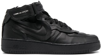 Comme des Garcons x Nike Air Force 1 low-top trainers