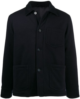 Officine Generale Buttoned Up Shirt Jacket