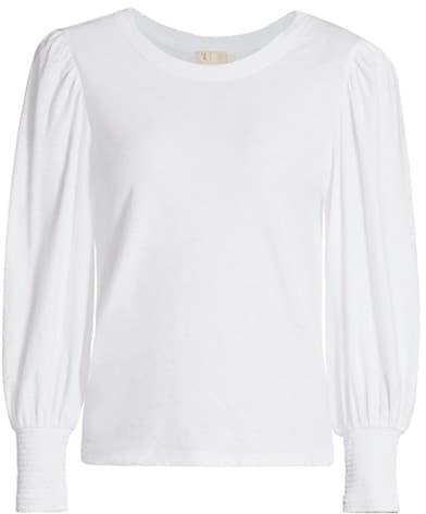 Nation Ltd. Loren Slim-Fit Long Puff-Sleeve T-Shirt