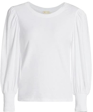 Nation Ltd. Loren Slim-Fit Long Puff-Sleeve T-Shirt