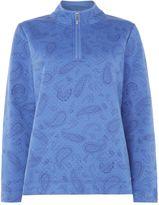 Tigi Paisley Print Sweater
