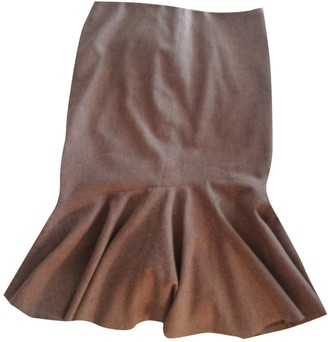 Ralph Lauren Beige Wool Skirt for Women