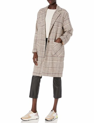 The Fifth Label Women's Mountains Check Open Long Coat