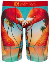 Ethika Men's The Staple Flamingo Island Boxer Brief Underwear Black S