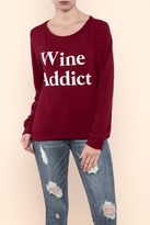 Triumph Wine Addict Sweatshirt