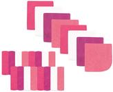 Luvable Friends Pink & White 24-Piece Washcloth Set