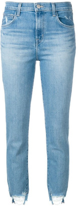 J Brand High Rise Cropped Ruby Jeans