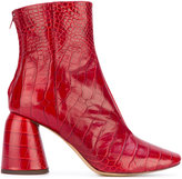 Ellery Cocco ankle boots - women - Leather - 35