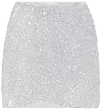 Osã©Ree Exclusive to Mytheresa a Marilyn sequined miniskirt