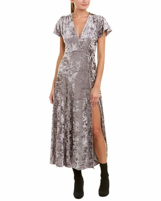 French Connection Women's Aurore Crushed Velvet Maxi Dress