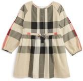 Girl's Burberry Kids Agnes Check Print Dress