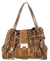 Jimmy Choo Ramona Patent Leather Bag