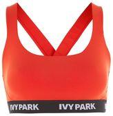 Ivy Park Logo v back mesh bra