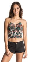 Roxy Junior's Actuality Cropped Halter Tank Top