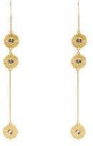 Sonia Rykiel Flower-motif drop earrings