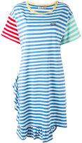 Tsumori Chisato contrast sleeve T-shirt dress - women - Cotton - M