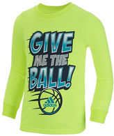 adidas Boys 2-7 Give Me The Ball Tee