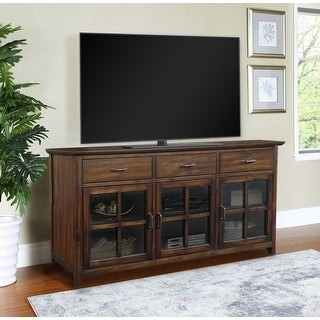 """Abbyson Oliver 70"""" Traditional Wood Media Console"""