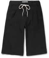 Sasquatchfabrix. - Sashiko-stitched Cotton Shorts