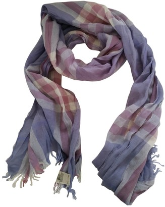 Burberry Purple Cashmere Scarves