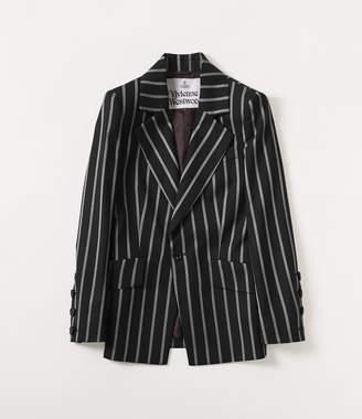 Vivienne Westwood Lou Lou Jacket Black/White Stripes