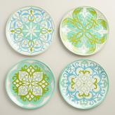 Coastal Melamine Dinner Plates Set of 4