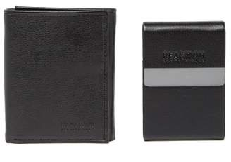 Kenneth Cole Reaction Wallet & Card Case Set
