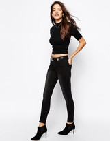 Vero Moda Wonder Jegging in Black